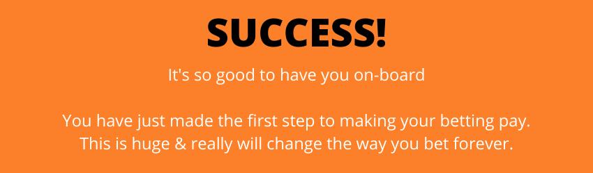 Success Text Please Read