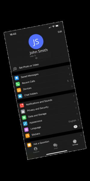 App Profile Screenshot